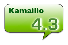 Kamailio 4.3
