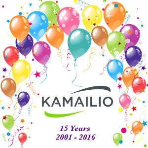 kamailio-15-years-ballons